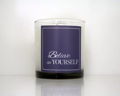 Cahn Candles - Believe in yourself
