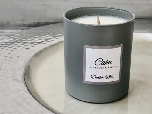 Denim Noir Candle Cahn Aromatherapy