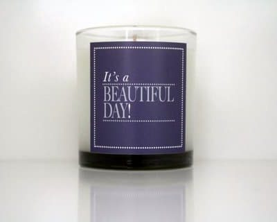Cahn Candles - beautiful day