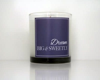 Cahn Candles - dream big sweetly