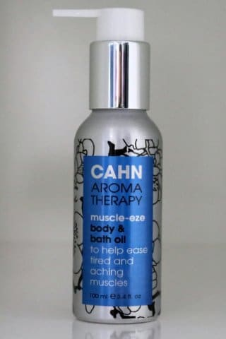 Cahn body and bath oil - muscle eze