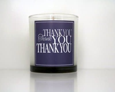 Cahn Candles – thank you thank you thank you